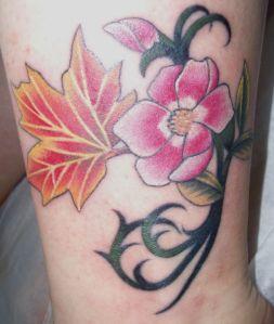 Alberta Rose Tattoo