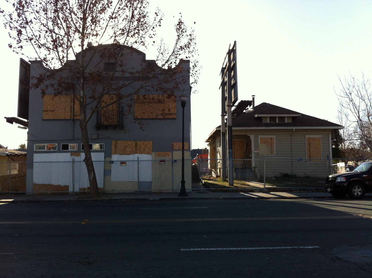 Abandoned houses, San Jose, CA