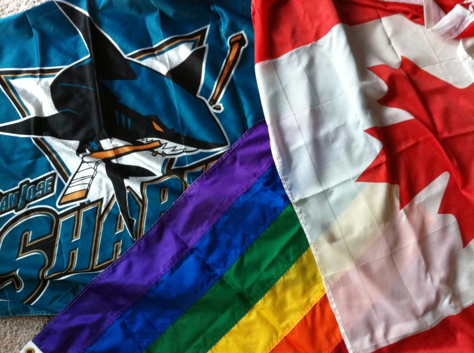 Canadian Pride Sharks