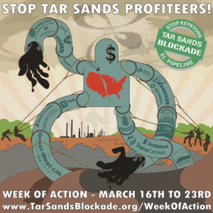 Tar Sands March Week Poster