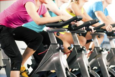 Exercise Bike in Gym