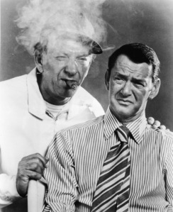 Jack Klugman & Tony Randall In TV's 'The Odd Couple'