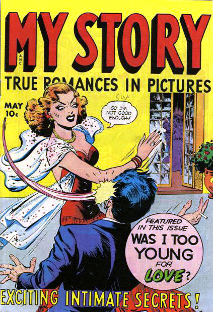 My Story cover by Fox Feature Syndicate through Wikimedia Commons