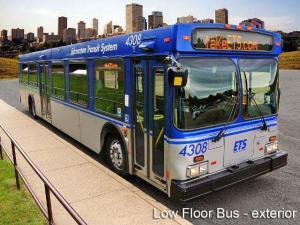 Edmonton Transit System Bus