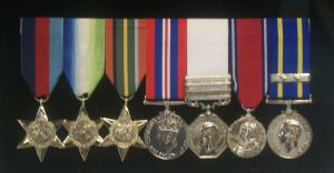 Canadian WWII and Service Medals