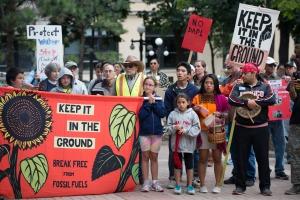 Rally Against Dakota Access Pipeline