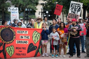 Rally Against Dakota Access Pipeline