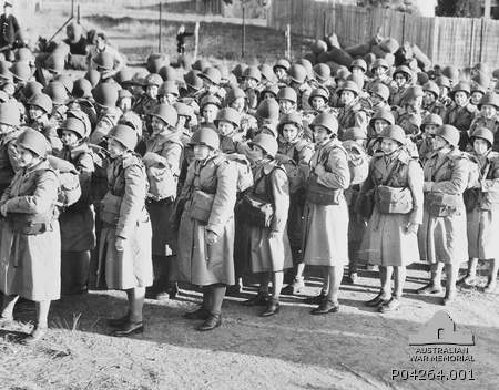 Group of women soliders.