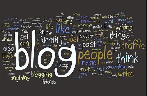 Blogging Research Wordie