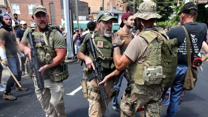 White Nationalists. Credit: Chip Somodevilla/AFP