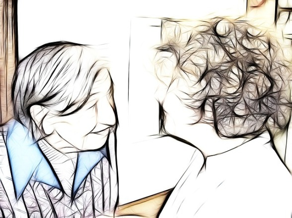 Woman with Dementia