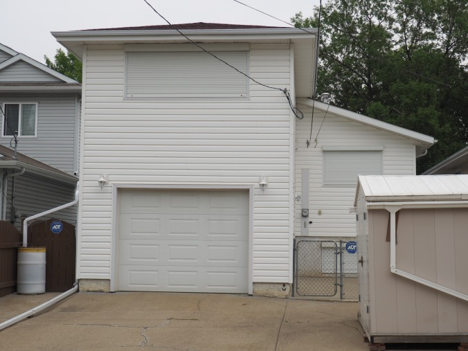 Above-garage suite