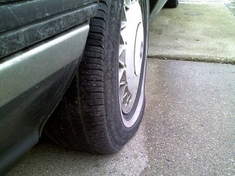 low pressure tire