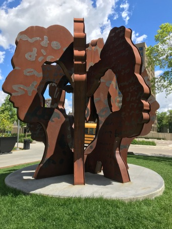 The Garden by Jacob Dutton and Richard Tosczak, Legislature grounds, Edmonton, Alberta