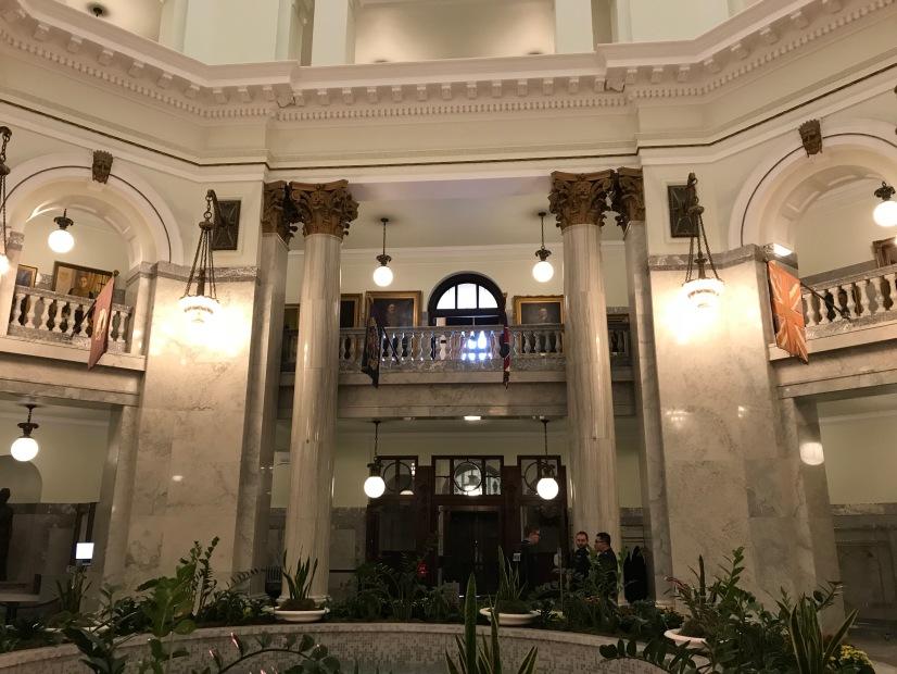 The Rotunda at Alberta Legislature Building