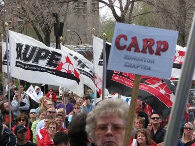 Alberta protest
