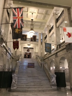 Inside Alberta Legislature Building
