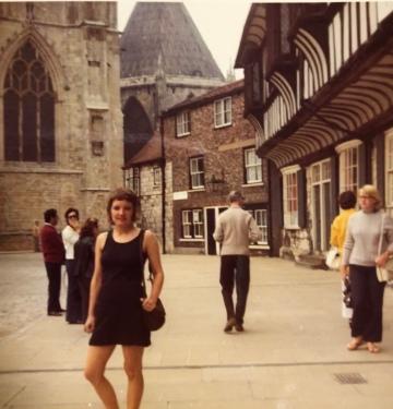 York, city center.