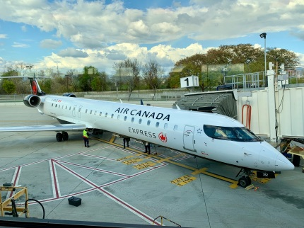 Air Canada Express. The plane I took to Vancouver.